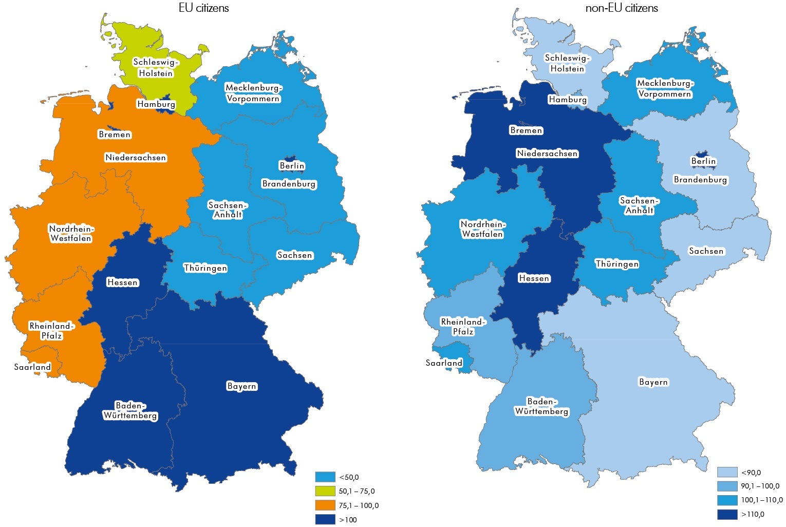 Map Of East And West Germany With Cities.East Germany Iwh Leibniz Institut Fur Wirtschaftsforschung Halle